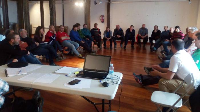 Reunión del encuentro con Lurgintza