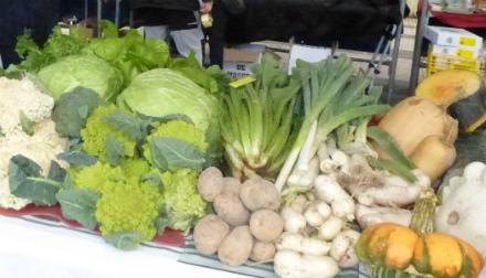 verduras de invierno
