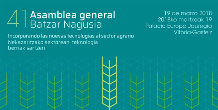 Cartel de la 41 Asamblea General de UAGA