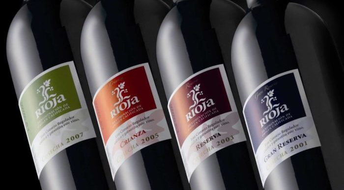 Botellas DOC Rioja