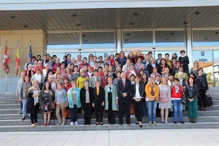Imagen de grupo de las asistentes al Día de la Mujer Rural