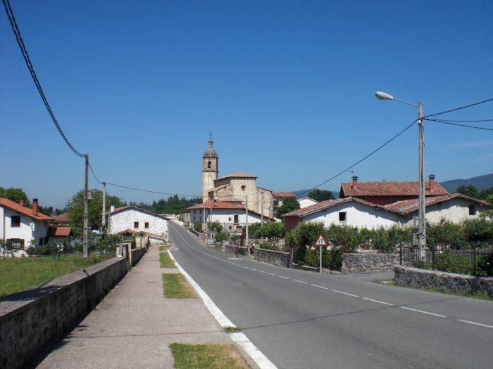Imagen del pueblo de Larrea