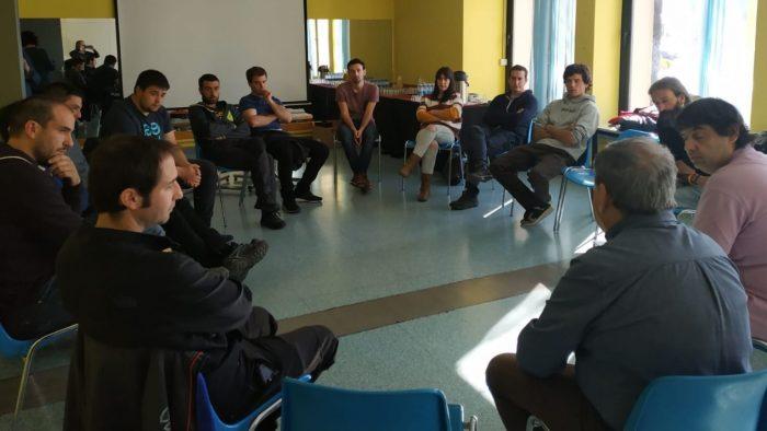 Reunión de jóvenes