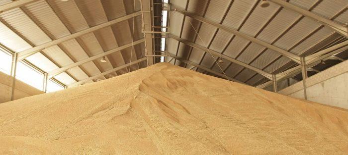 almacén de cereal de Garlan