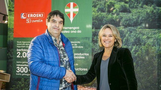 firma acuerdo EROSKI-UAGA