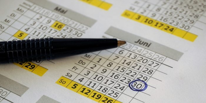 calendario de plazos