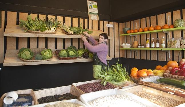 establecimiento de verduras