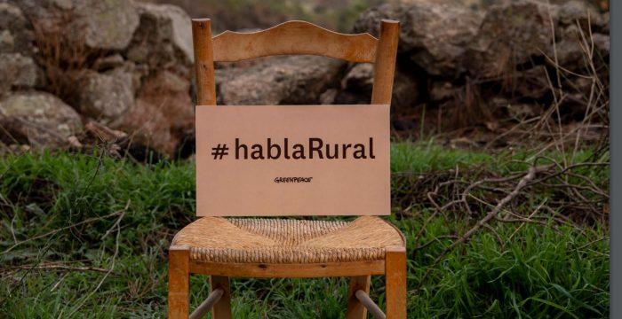 Imagen de la campaña #hablaRural