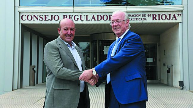 Fernando Ezquerro y Fernando Salamero, presidentes de la DOC Rioja